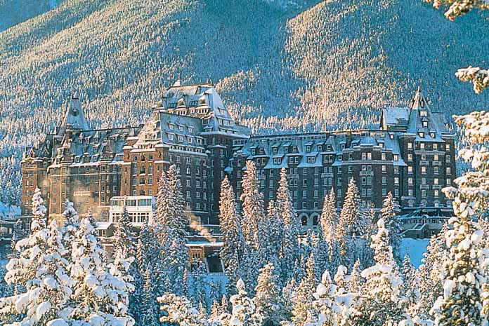 Ski Holidays In Hotel Fairmont Banff Springs Banff Canada