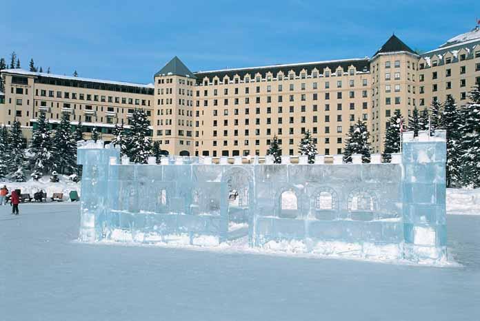ski holidays in hotel fairmont chateau lake louise lake. Black Bedroom Furniture Sets. Home Design Ideas