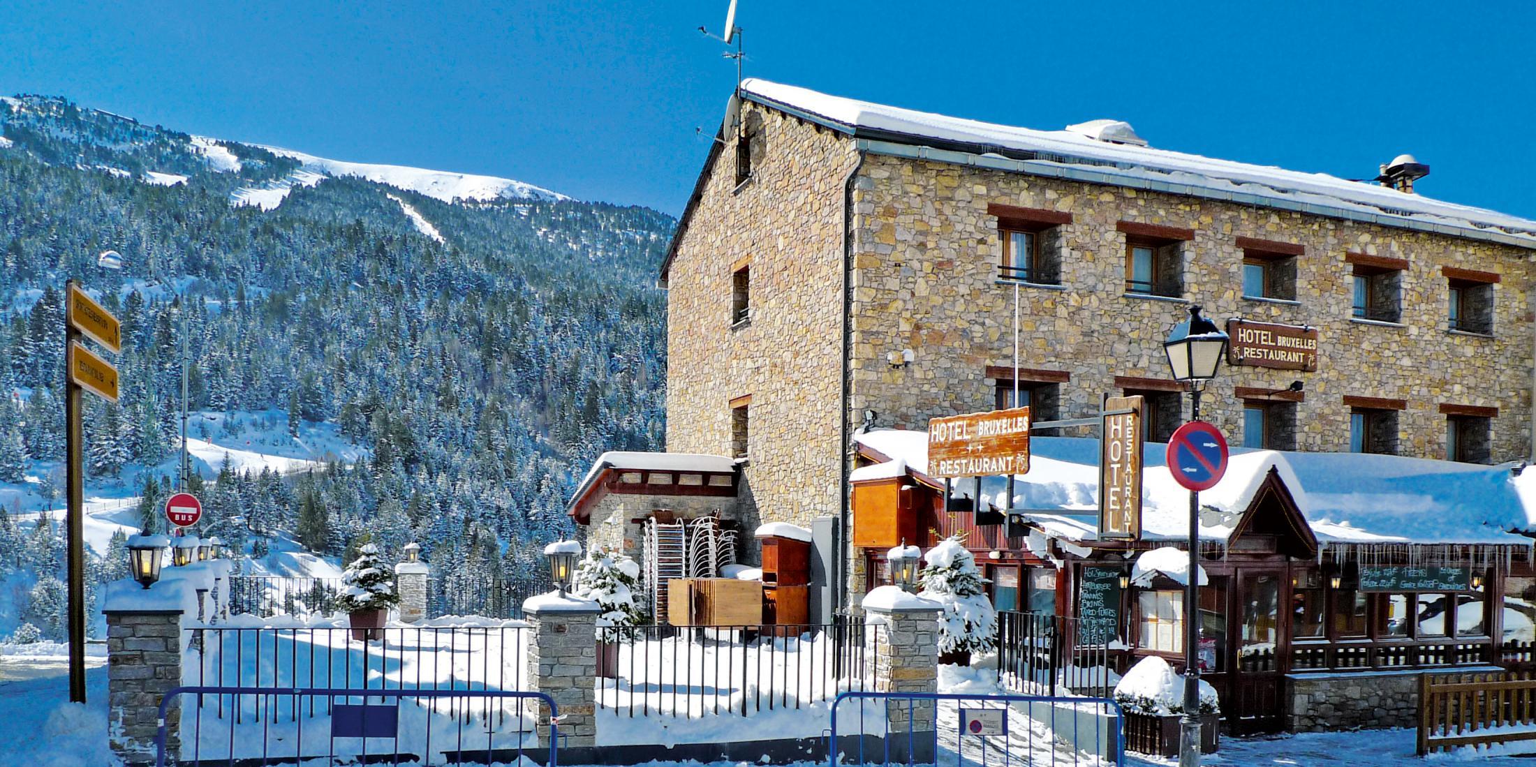 ski holidays in hotel bruxelles   soldeu - el tarter   andorra