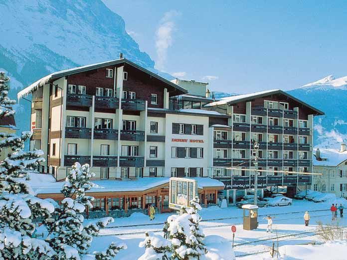 Ski holidays in hotel derby grindelwald switzerland for Derby hotels