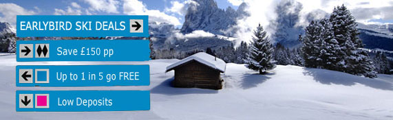 Save £100 per person on Ski Holidays for 2010/2011
