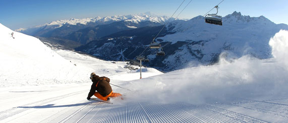 Ski deals to Meribel