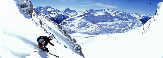 Skiing Holidays in St Anton