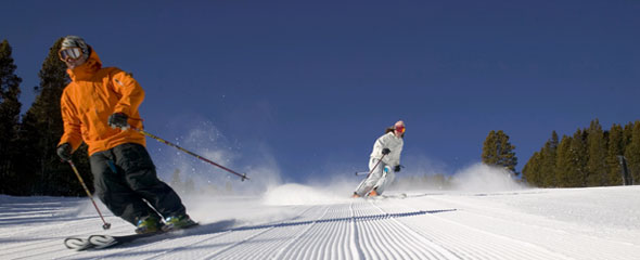 Vail is well known for it's superbly prepared pistes!