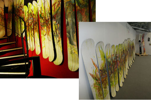 Loslohbros recycle old snowboards