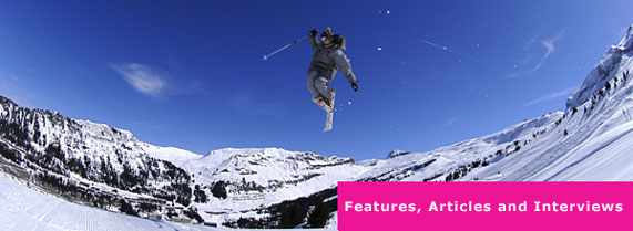 skiing articles, skiing features, skiing interviews