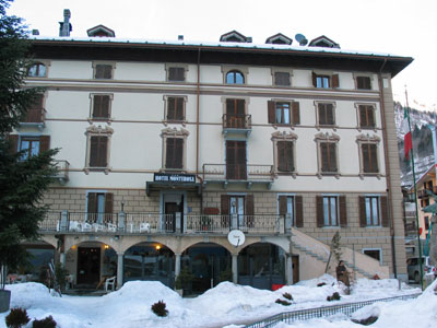 The Hotel Monte Rosa!