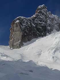 Vallée Blanche Scenery