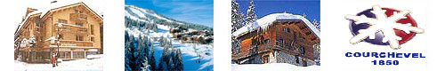 Skiing Holidays in Courchevel