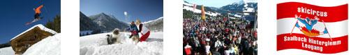 Skiing Holidays in Saalbach
