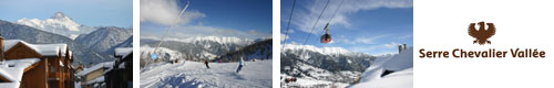 Skiing Holidays in Serre Chevalier