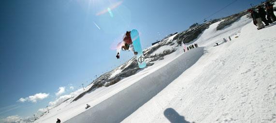 summer ski resorts