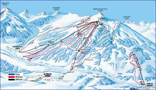 Alpbach Ski Holidays Snow Reports In Skiing Austria: Alpbach Austria Map At Slyspyder.com