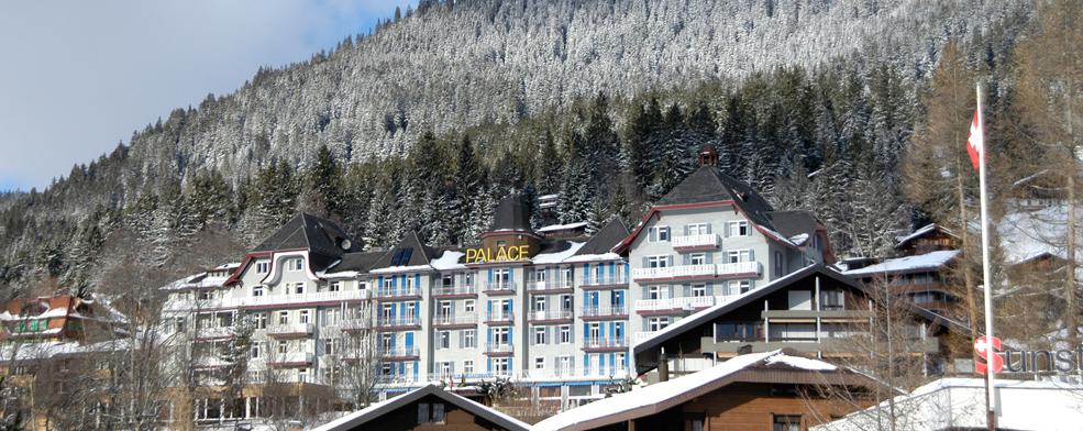 Palace Hotel In Wengen Switzerland